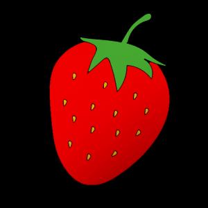 Как нарисовать клубнику поэтапно