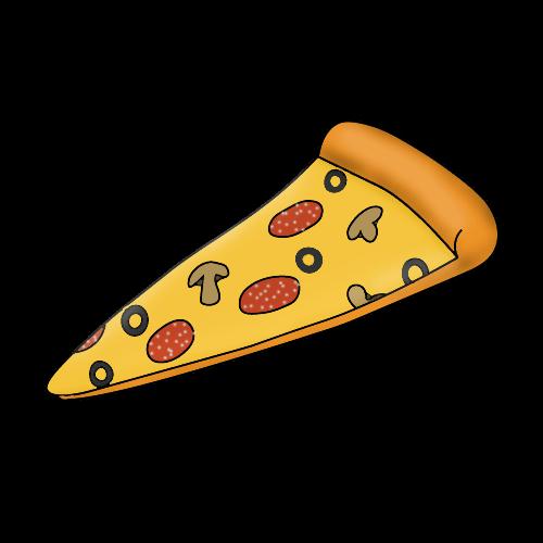 Как нарисовать пиццу