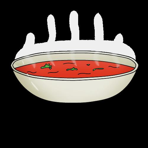 Как нарисовать суп