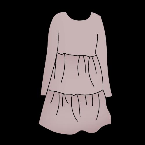 Как нарисовать платье