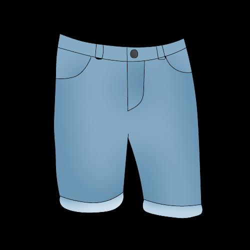 Как нарисовать шорты