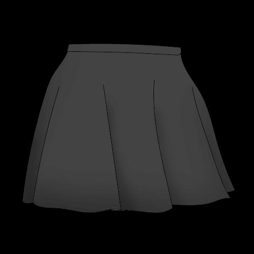 Как нарисовать юбку