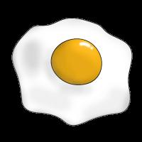 Как нарисовать яичницу
