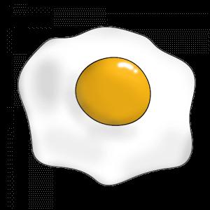Как нарисовать яичницу поэтапно