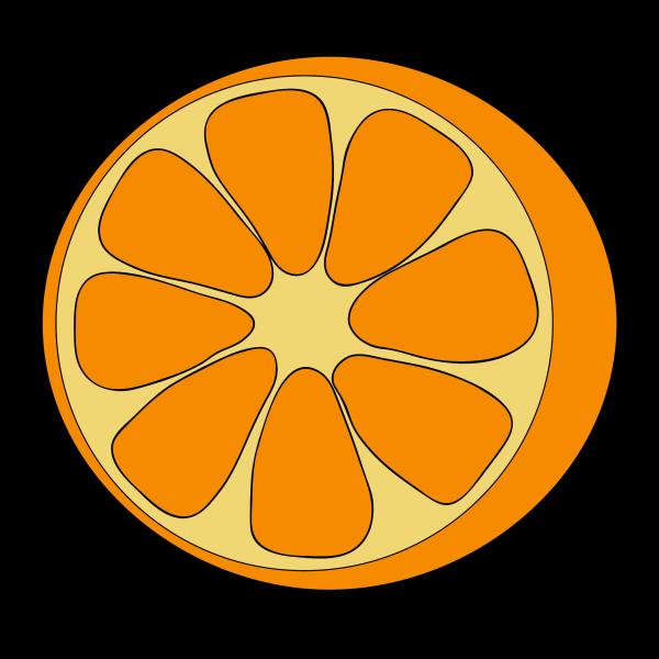 Апельсин нарисовать поэтапно с детьми