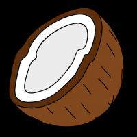 Как нарисовать кокос