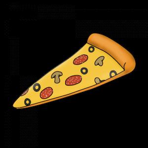 Пицца нарисовать поэтапно с детьми